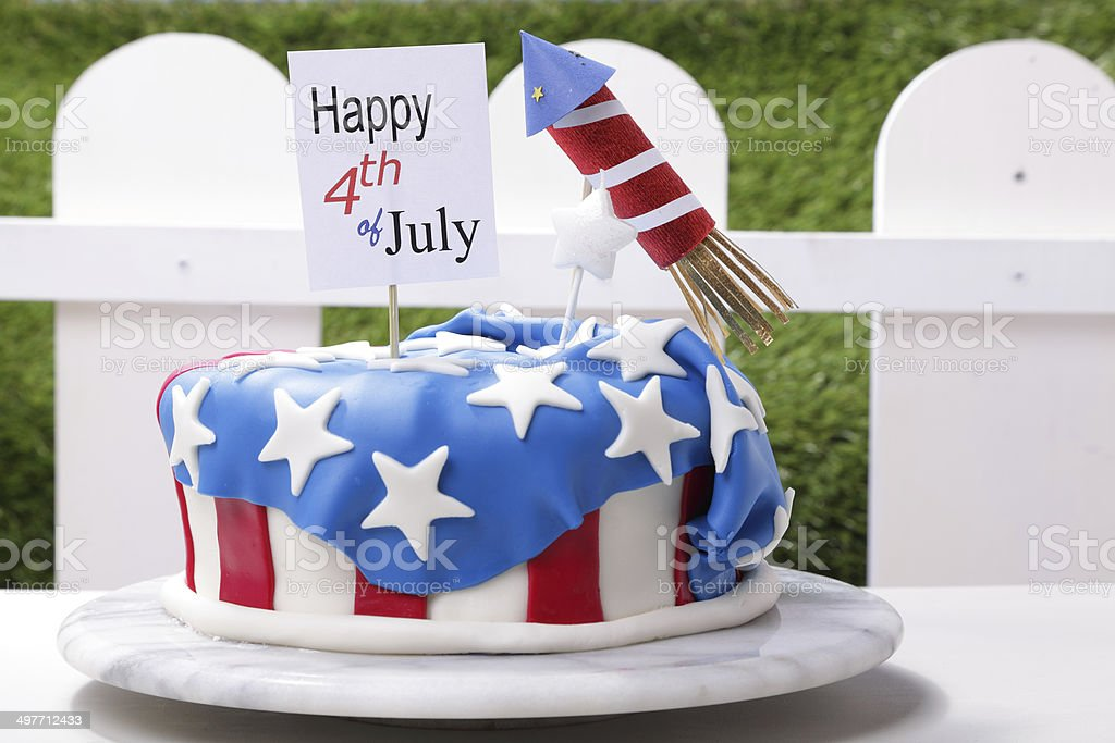 July Fourth royalty-free stock photo