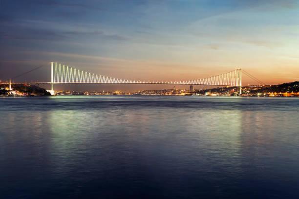 15 July Martyrs Bridge(Bosphorus Bridge) 15 July Martyrs Bridge(Bosphorus Bridge)15 July Martyrs Bridge(Bosphorus Bridge) bosphorus stock pictures, royalty-free photos & images