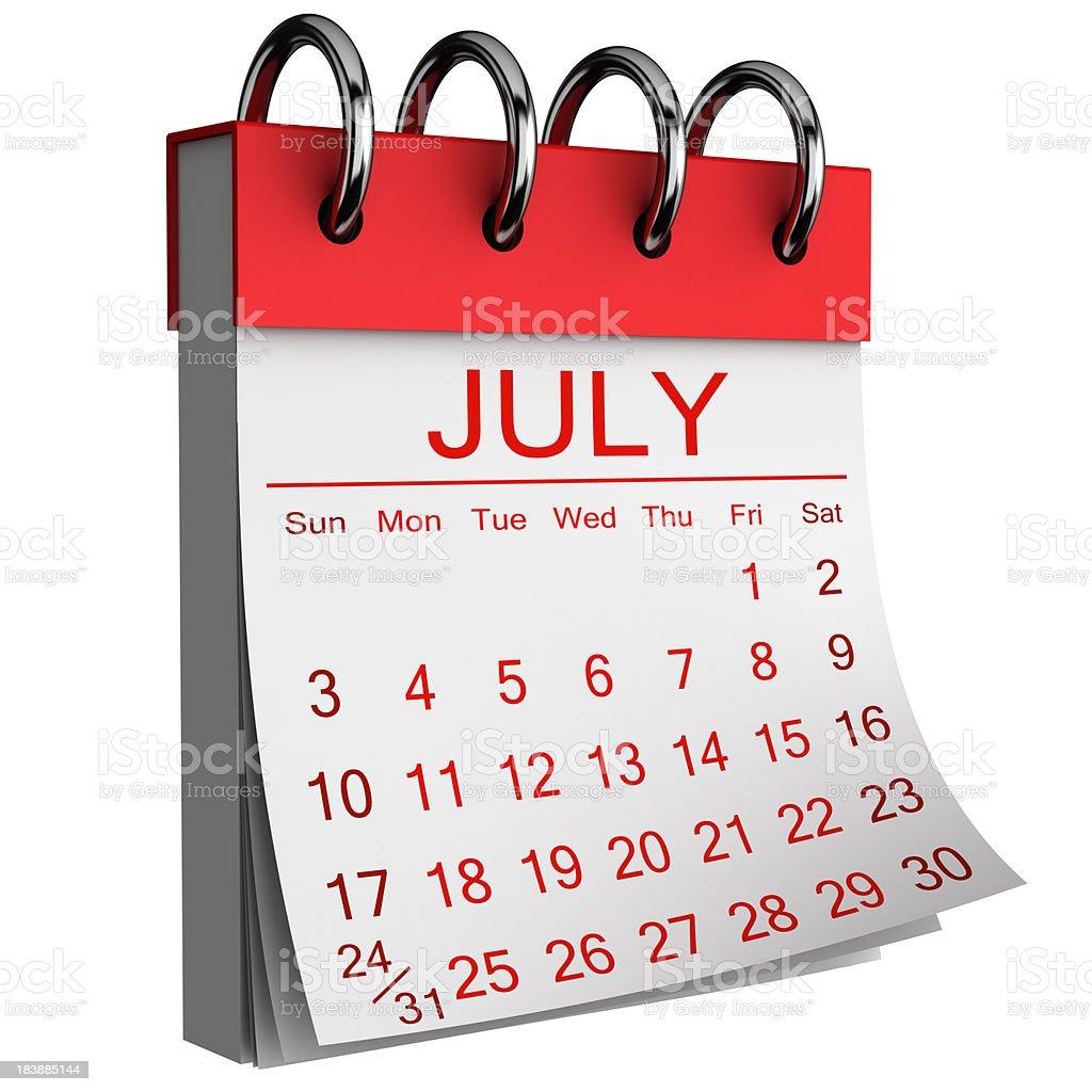 July royalty-free stock photo