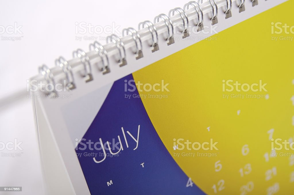 July Up Close... royalty-free stock photo