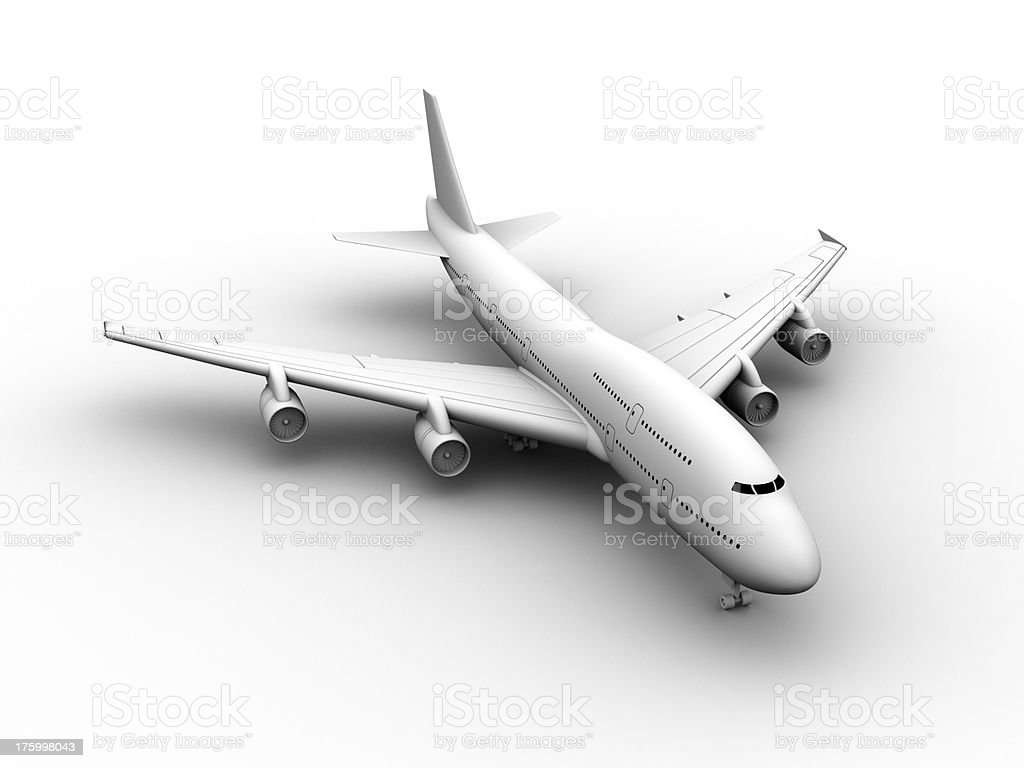 Jumbo Jet Series 01 royalty-free stock photo