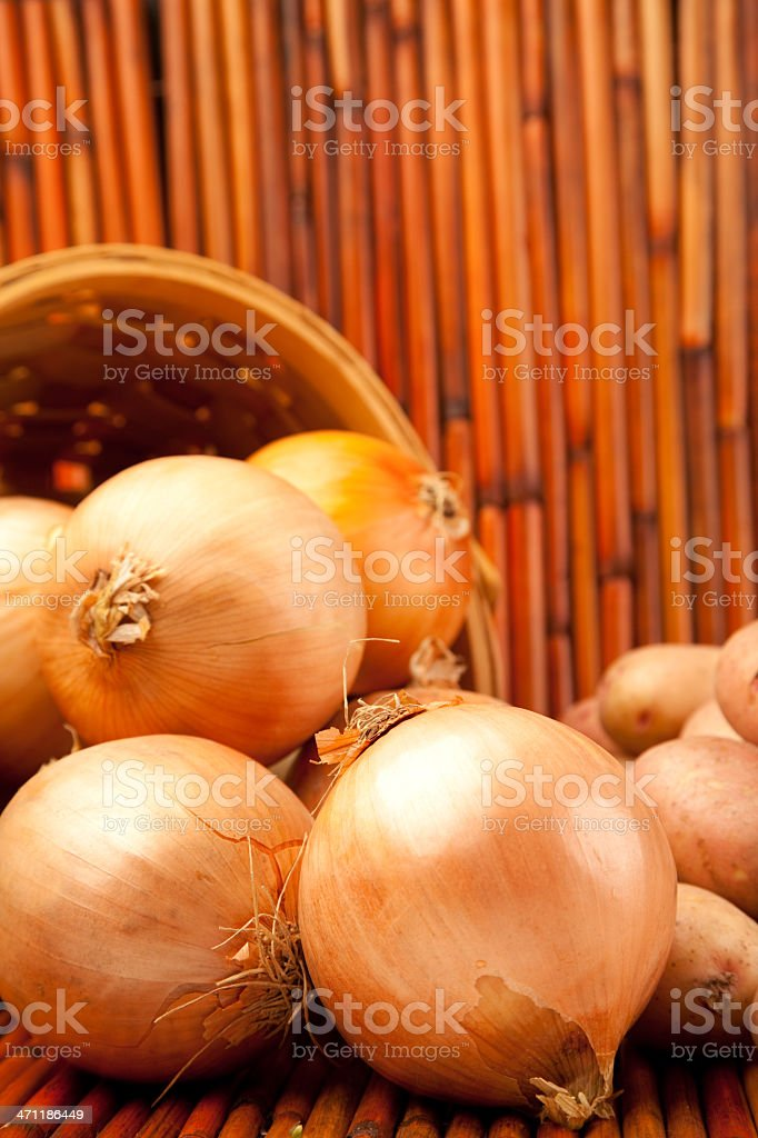 Jumbo Onions royalty-free stock photo