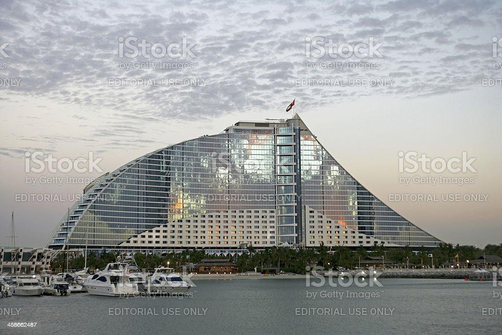 Jumeirah Beach Hotel stock photo