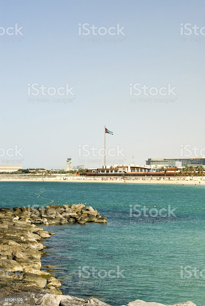 Jumeirah Beach royalty-free stock photo