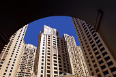 residential skyscrapers in Dubai marina area..More Arabia Related..