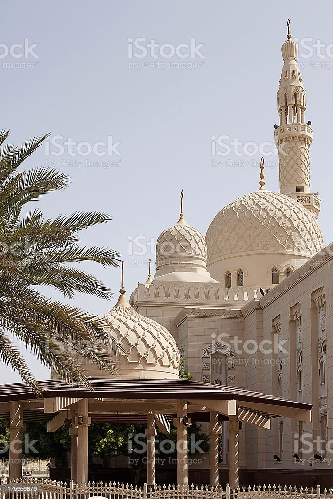 Jumeirah Mosque, Dubai stock photo