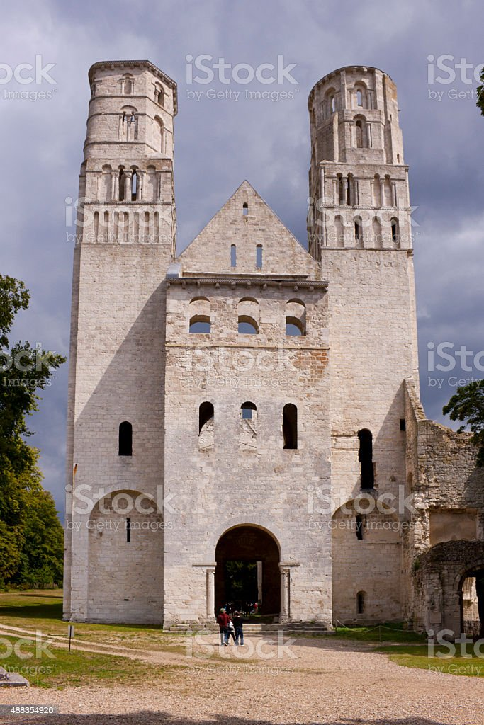 Jumieges stock photo