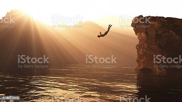 Photo of Jump from a hill