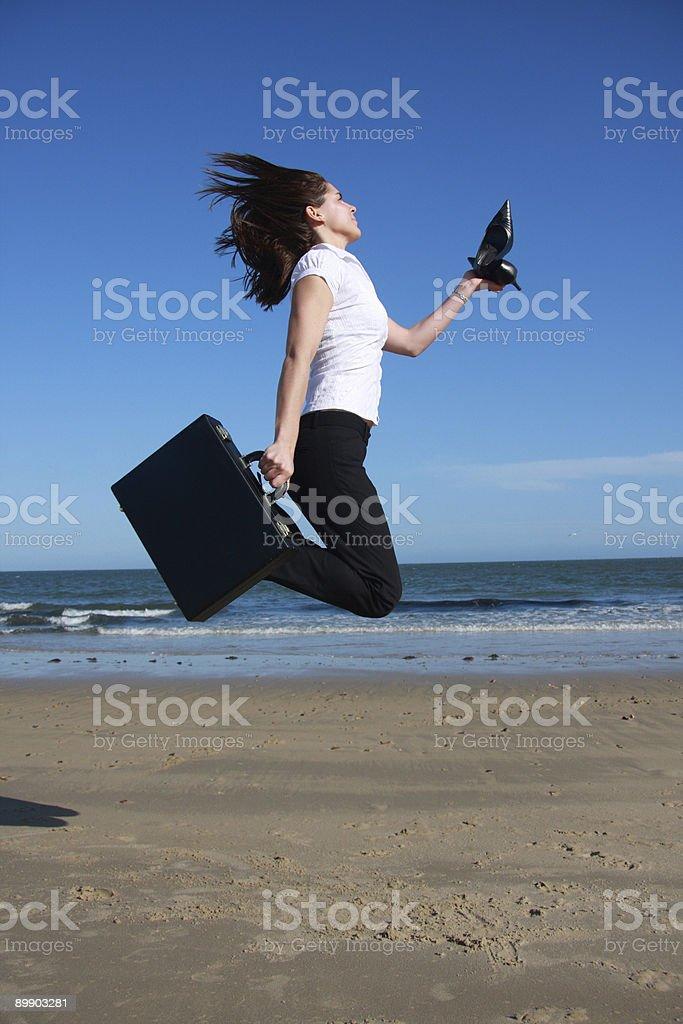 Jump. royalty-free stock photo