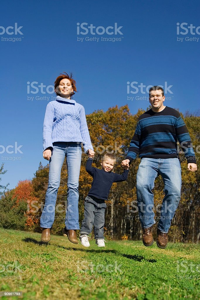 Jump! royalty-free stock photo