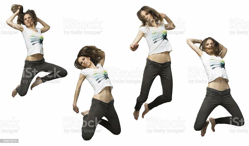 jump series royalty-free stock photo