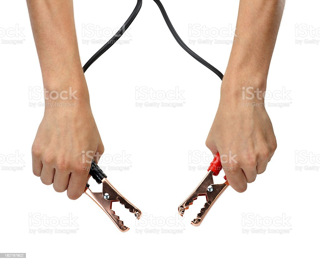 Jumper Cables stock photo