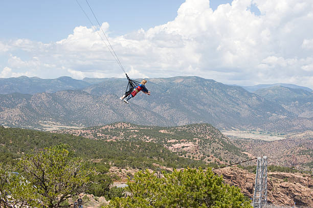 Jumpers Over the Royal Gorge