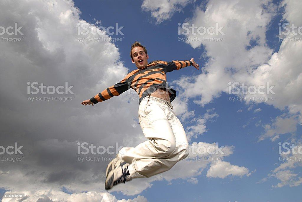 Jumpin' stock photo