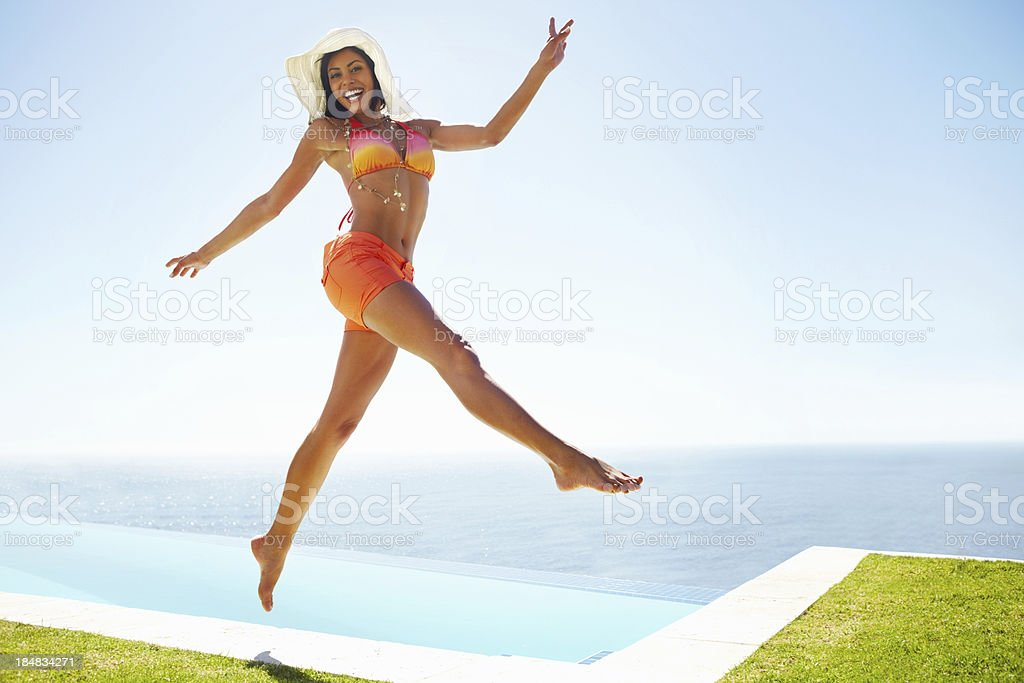 jumping for joy stock photo more pictures of 20 29 years istock
