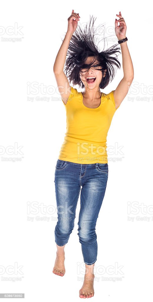 Jumping free stock photo