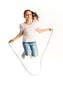 istock Jumping girl 475476914