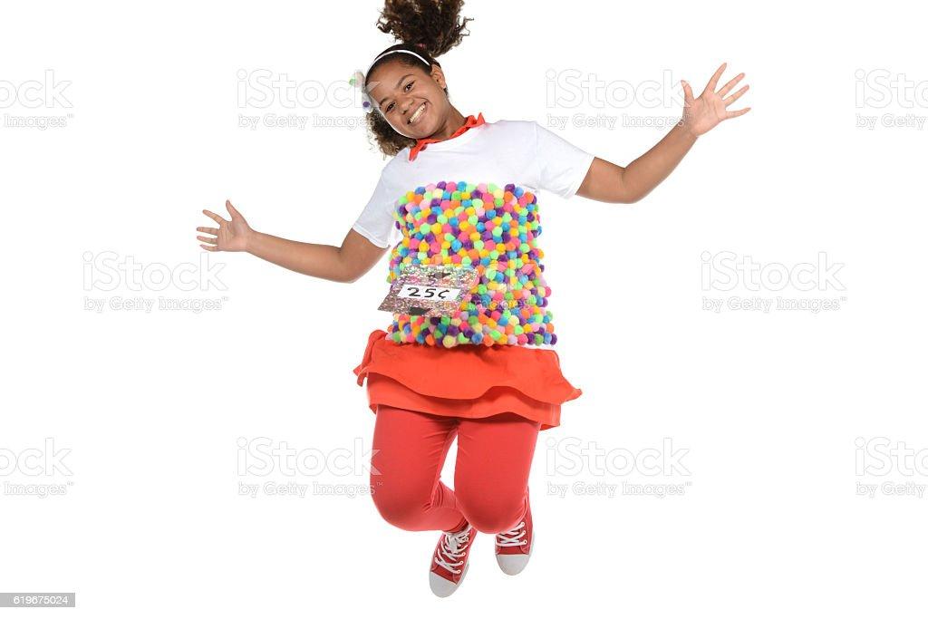 Jumping Gum Ball Machine stock photo