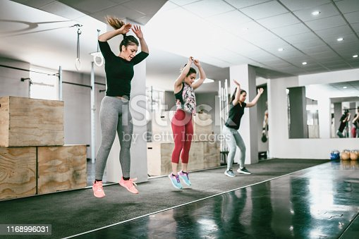 Jumping Jacks In Gym