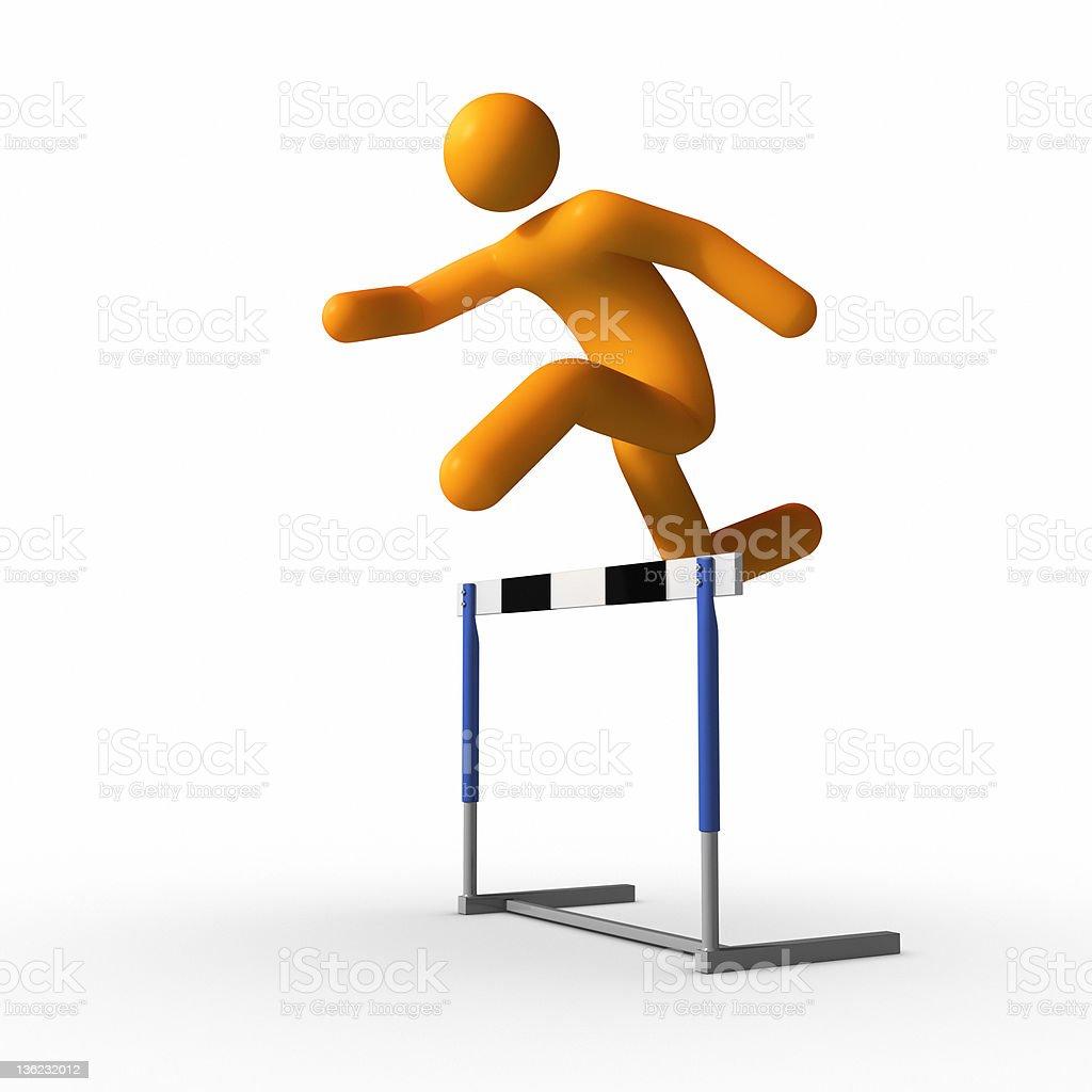 20 St salto salto edición hindersstange obstáculo edición barras tirada