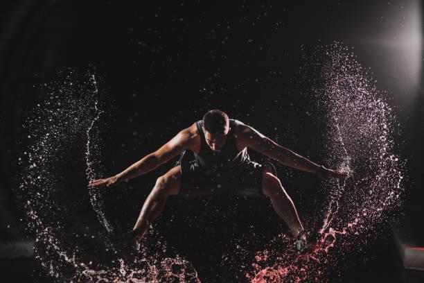 Springen über meinen Rekord – Foto