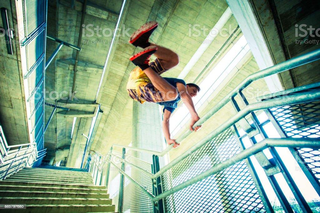 jumping stock photo