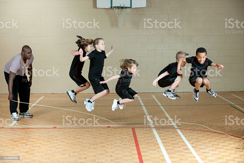 Jumping Rope stock photo