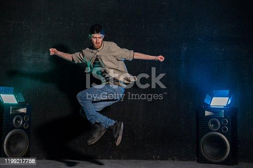 Dancing, Jumping, Men, Dancer, Breakdancing