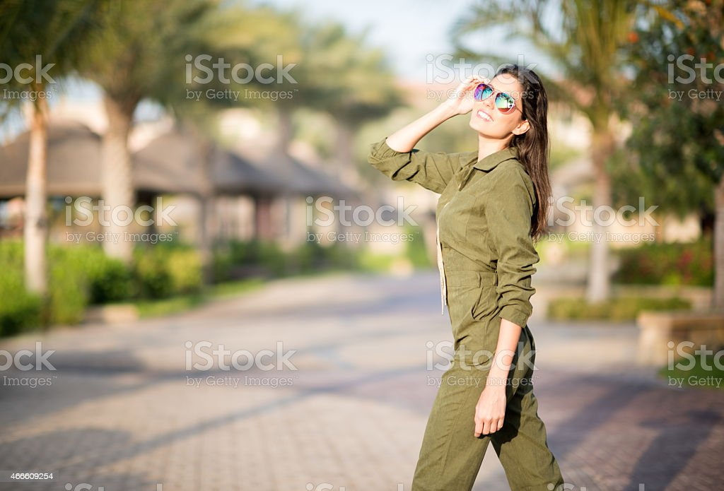 Jumpsuit Fashion stock photo