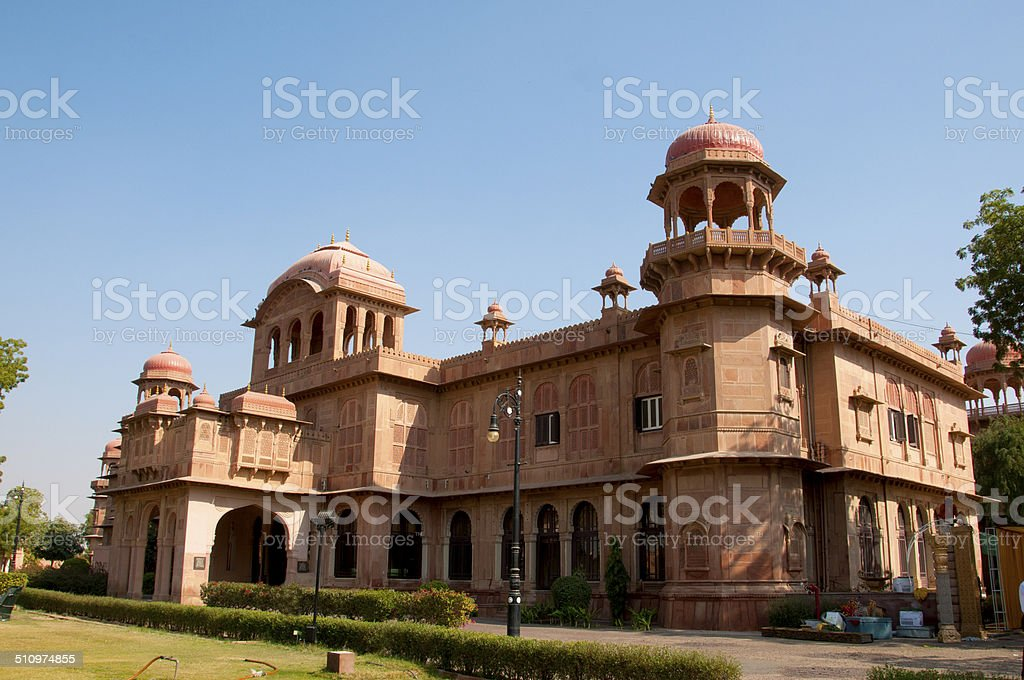 Junagarh Fort, Bikaner, rajasthan state, India stock photo