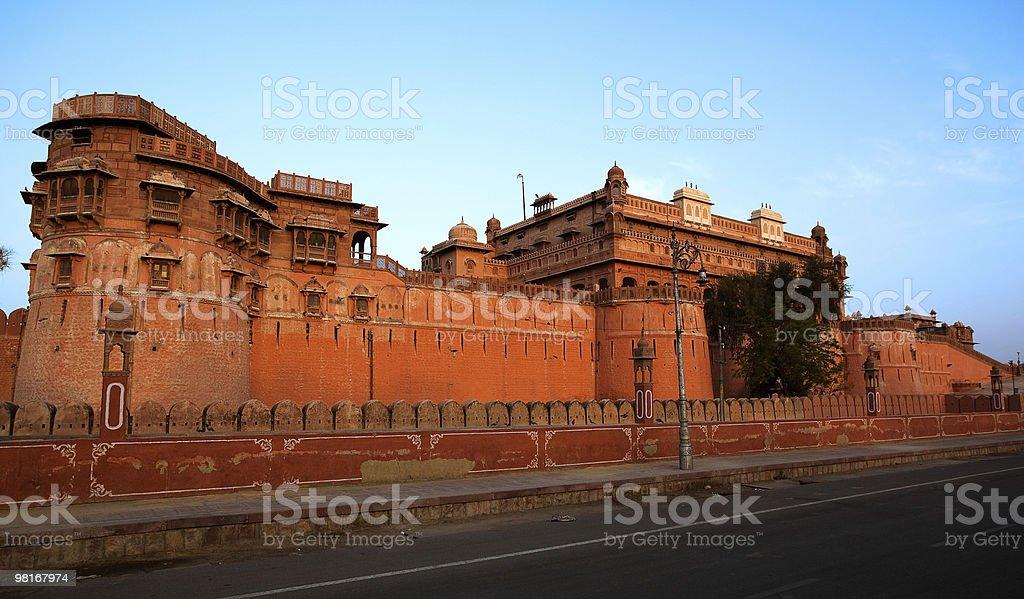 Junagarh Fortin 비카너 royalty-free 스톡 사진