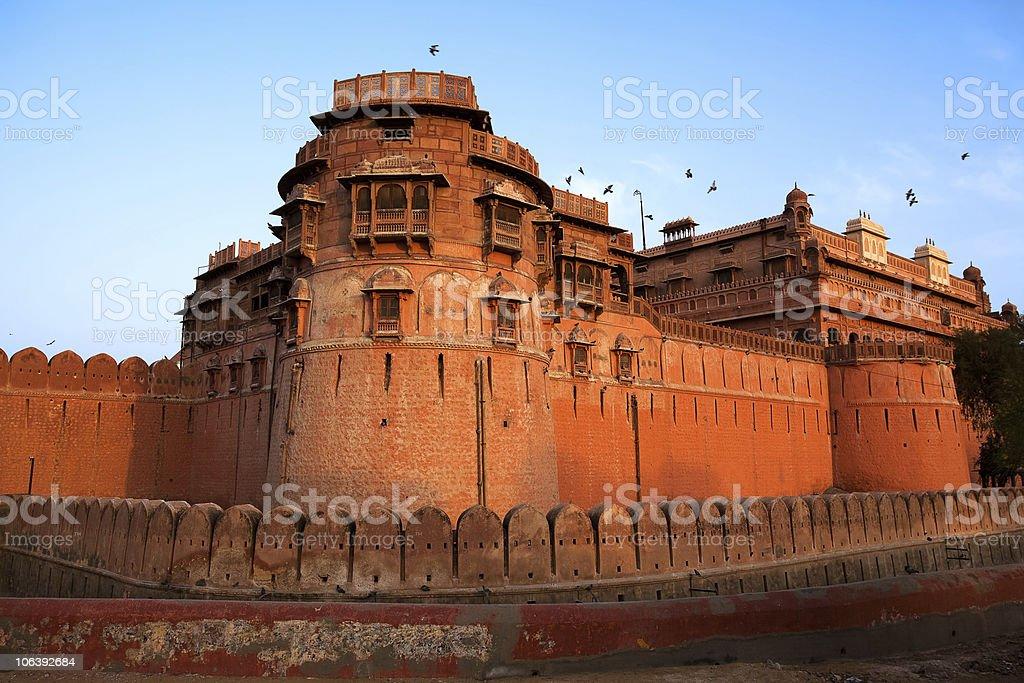 Junagarh Fortin Bikaner rajasthan  india stock photo