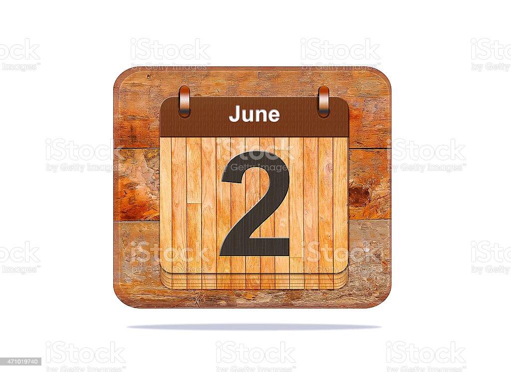 June 2. stock photo