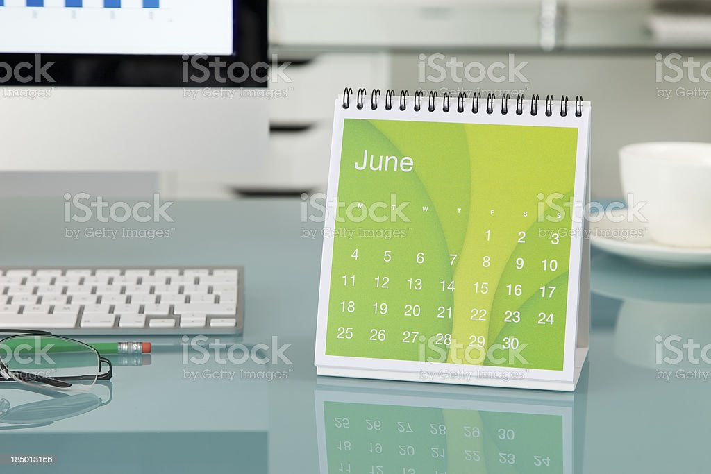 June 2012... stock photo