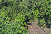 istock 28 June 2014 Close up of the railway 1203089939