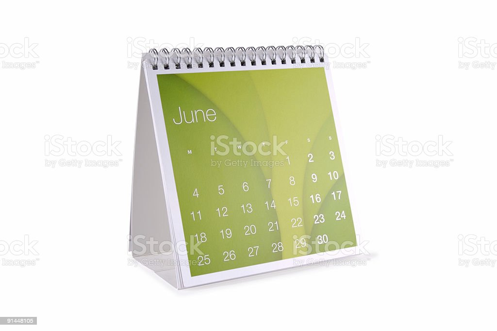 June Isolated... royalty-free stock photo