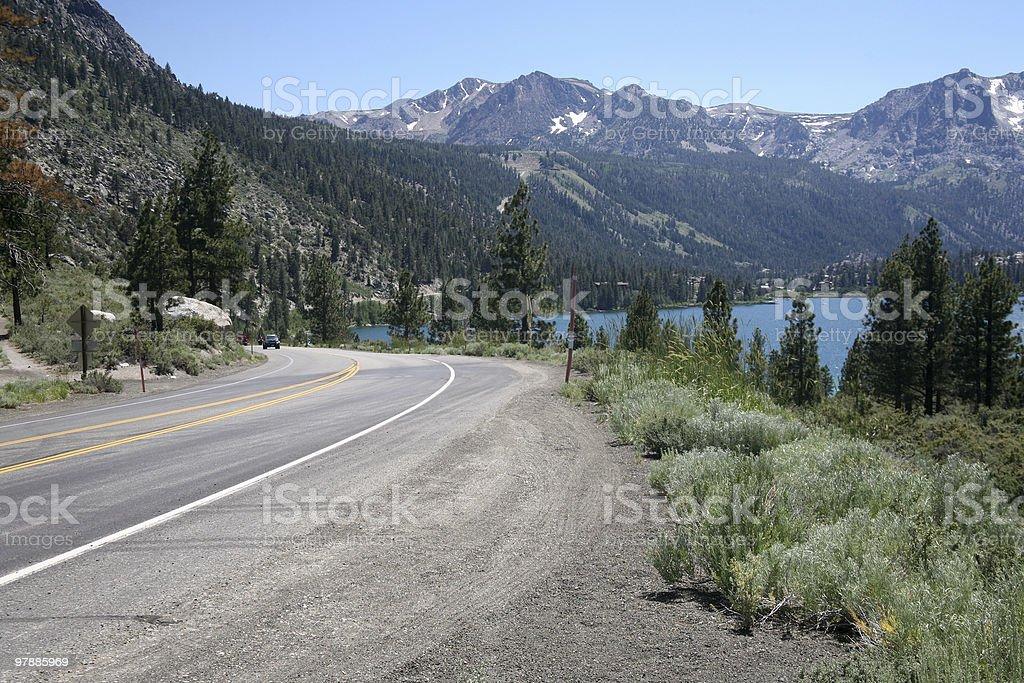 June lake royalty-free stock photo