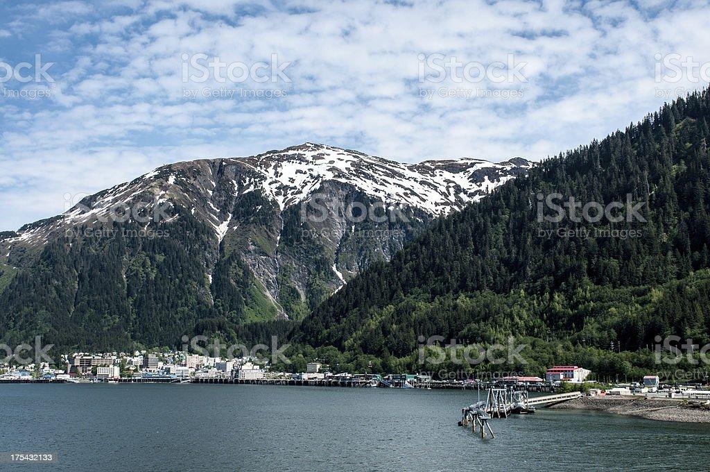 Juneau Alaska stock photo
