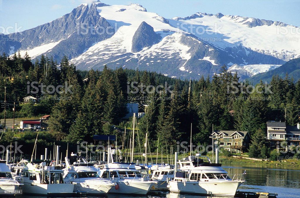 Juneau, Alaska stock photo