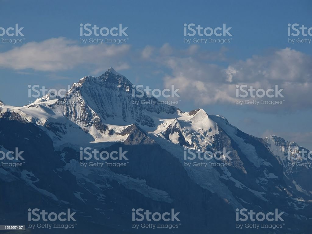 Jungfrau In The Early Morning royalty-free stock photo
