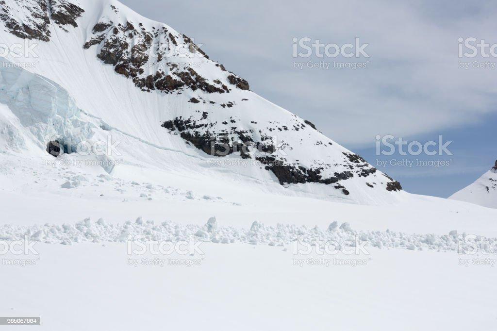 Jungfraujoch Swiss Alps Ice Cave, Switzerland royalty-free stock photo
