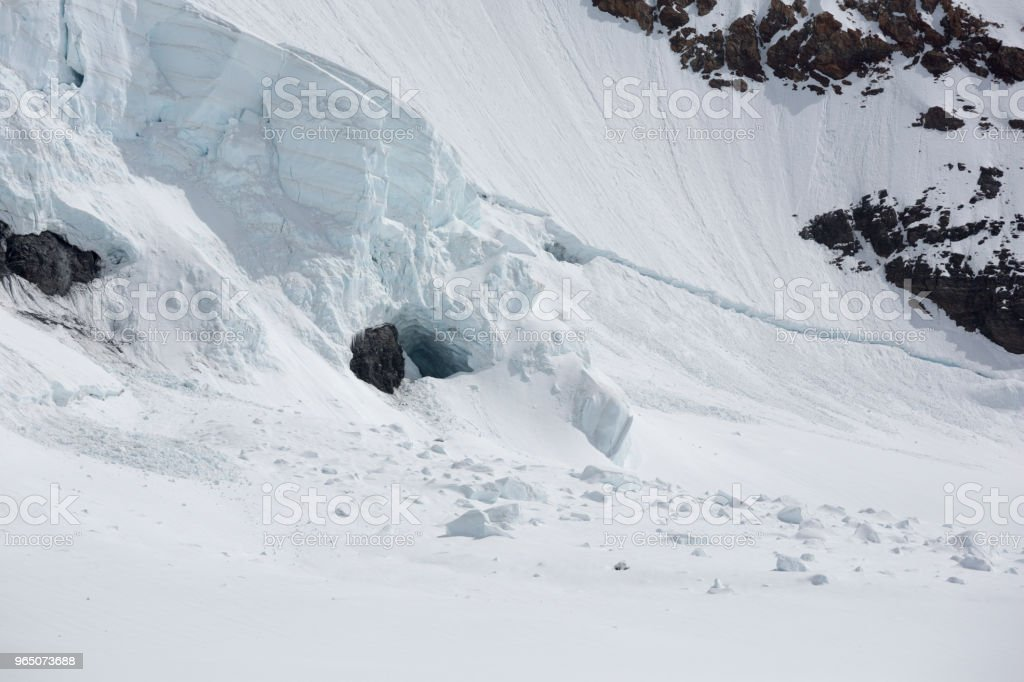 Jungfraujoch Swiss Alps, Switzerland royalty-free stock photo
