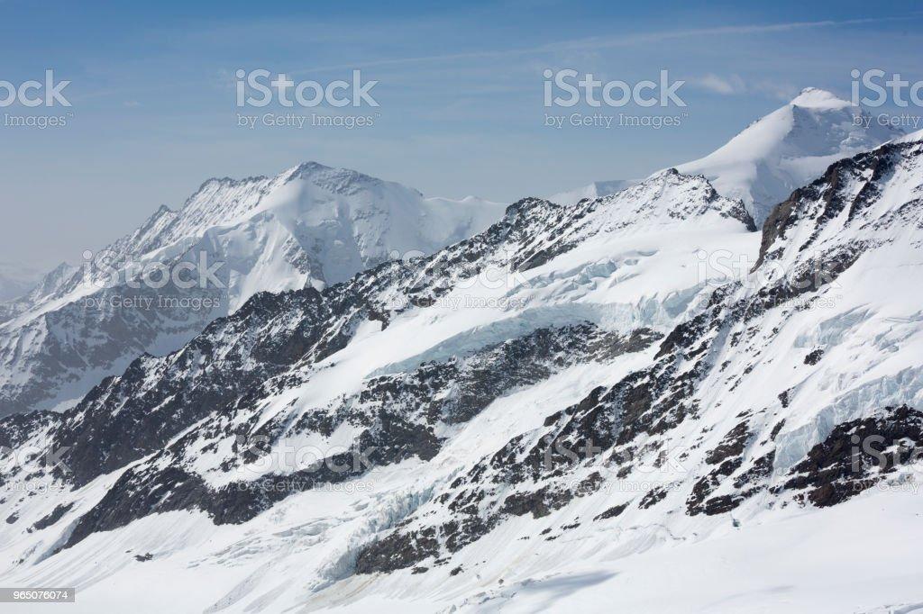 Jungfraujoch Swiss Alps, Switzerland royalty-free stock photo