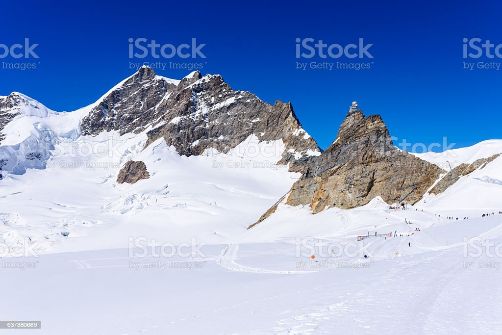 Jungfraujoch - Top of Europe in Switzerland, Europe – Foto