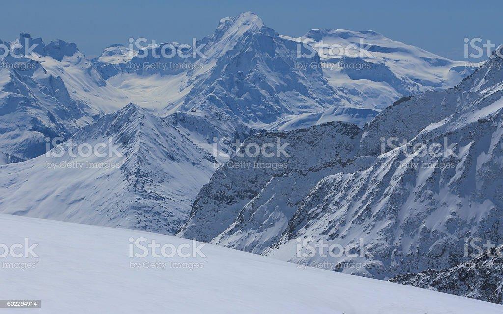 Jungfraujoch, Top of Europe stock photo