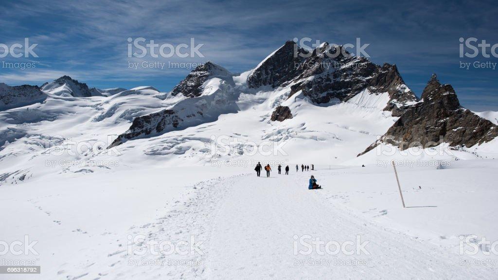 Jungfrauregion stock photo