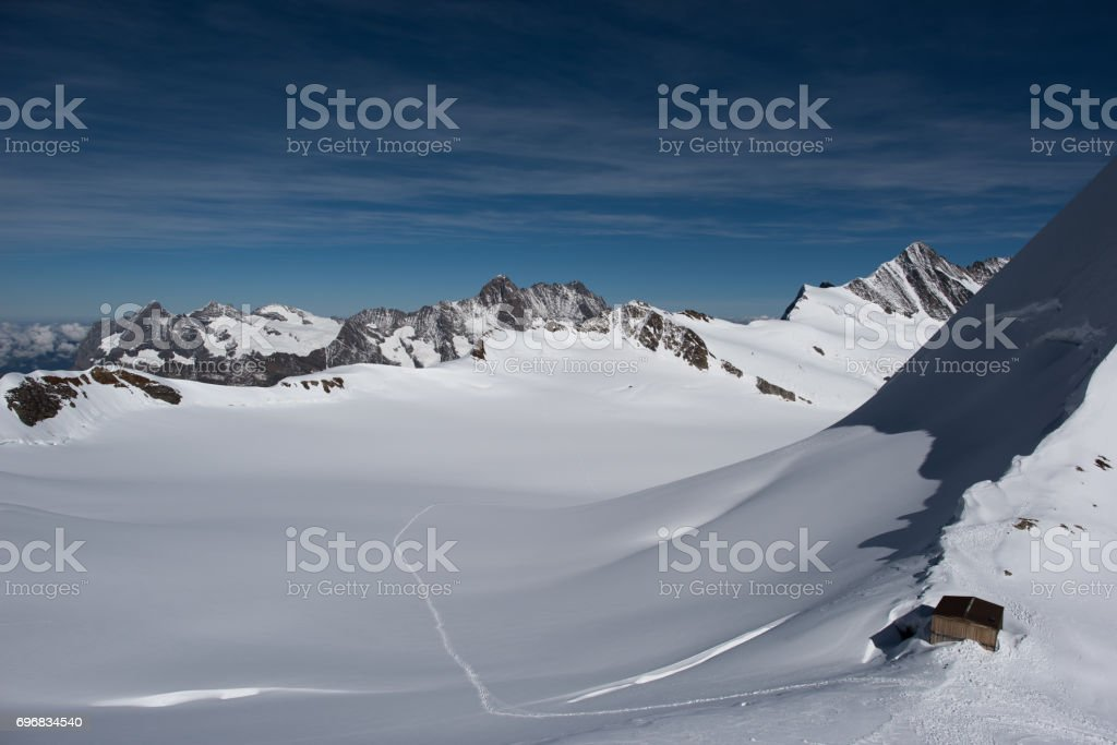 Jungfrauregion switzerland stock photo