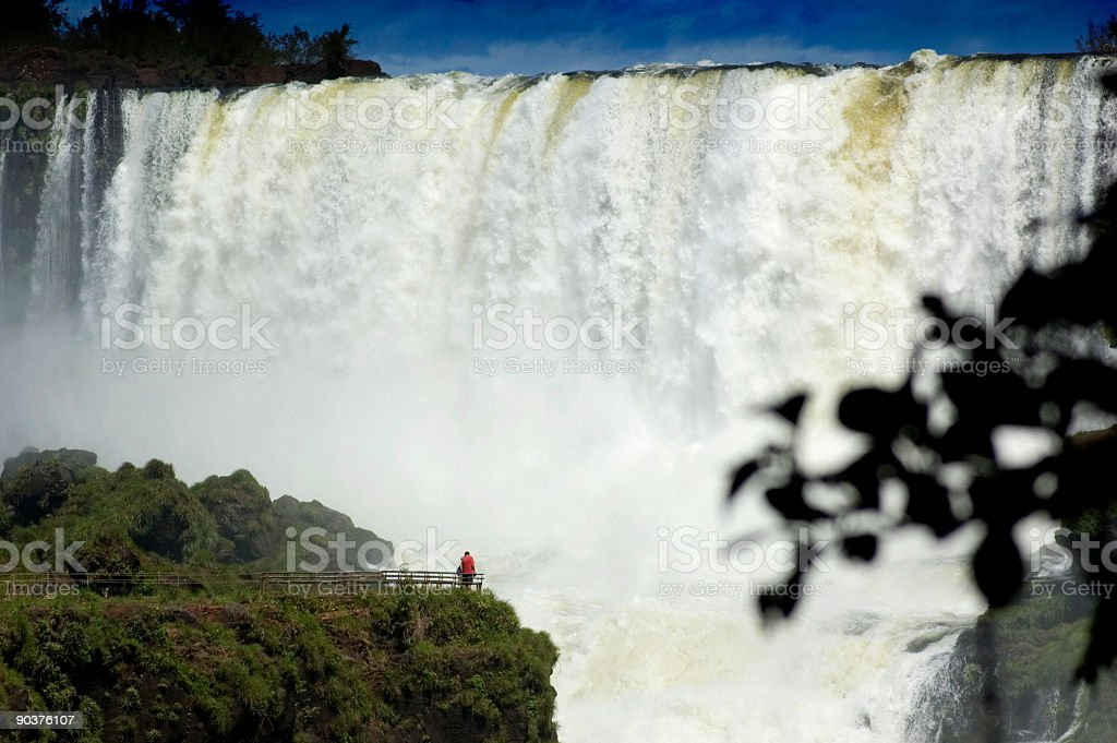 Jungle Waterfalls royalty-free stock photo
