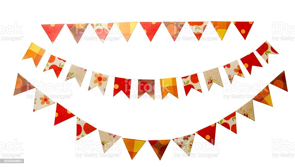 Festa Junina flags stock photo