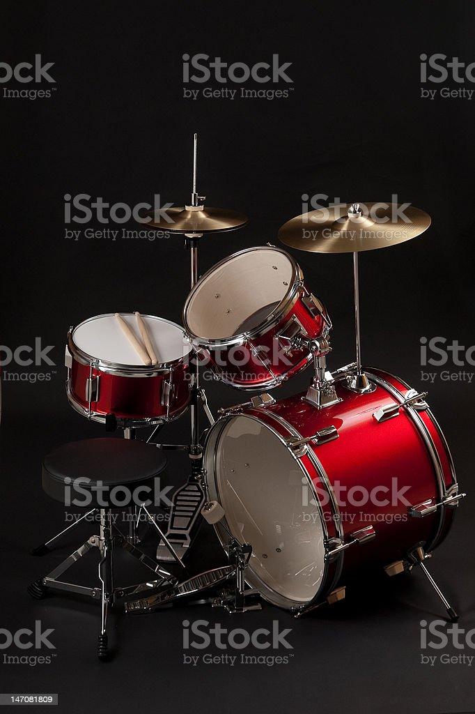 Junior Drum Set stock photo